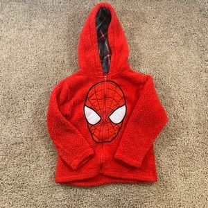 Used super clean Spider-Man 4t kids